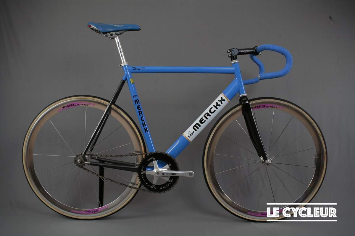 Eddy Merckx titane track - Le Cycleur