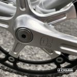 Galli logo on crankset